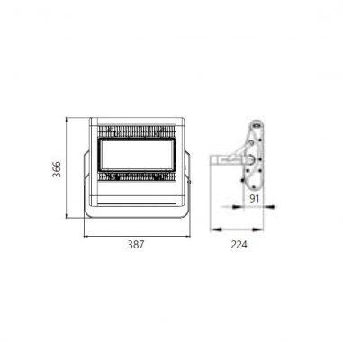 DLED-FL145-1100-DWG